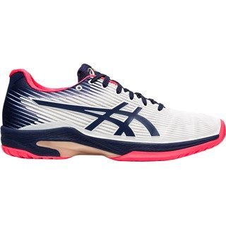 Asics Gel-Solution Speed FF (HC) Peacoat White Women's Tennis Shoes ( US 6.5 Only )