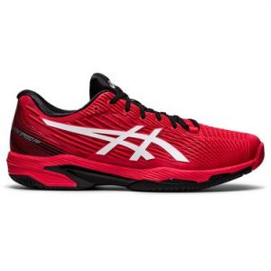 Asics Solution Speed FF2 Electric Red/White Mens Tennis Shoe